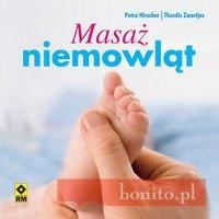 Okładka książki Masaż niemowląt