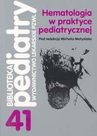 Okładka książki Hematologia w praktyce pediatrycznej