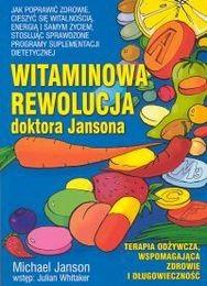 Okładka książki Witaminowa rewolucja doktora Jansona
