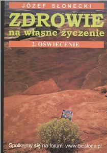 Okładka książki Zdrowie na własne życzenie. 2, Oświecenie
