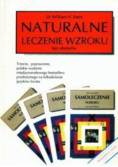 Okładka książki Naturalne leczenie wzroku bez okularów