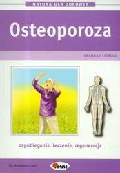 Okładka książki Osteoporoza /Natura dla zdrowia