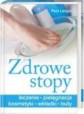 Okładka książki zdrowe stopy