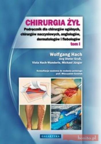 Okładka książki Chirurgia żył