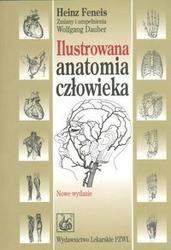 Okładka książki Ilustrowana anatomia człowieka