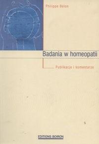 Okładka książki Badania w homeopatii