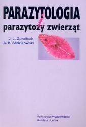 Okładka książki Parazytologia i parazytozy zwierząt