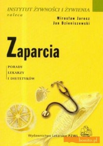 Okładka książki Zaparcia