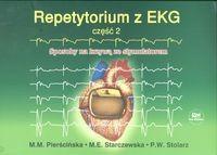 Okładka książki Repetytorium z EKG cz 2 Sposoby na krzywą