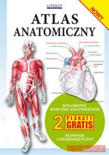 Okładka książki Atlas anatomiczny