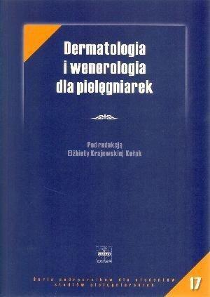 Okładka książki Dermatologia i wenerologia dla pielęgniarek