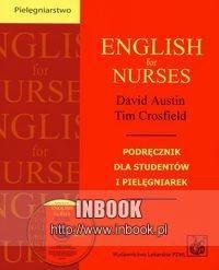 Okładka książki English for nurses + CD - Austin David, Crosfield Tim