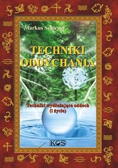 Okładka książki Techniki oddychania