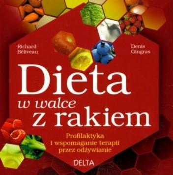 Okładka książki Dieta w walce z rakiem