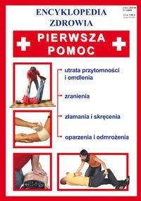 Okładka książki Brygida Czapiewska. Pierwsza pomoc.
