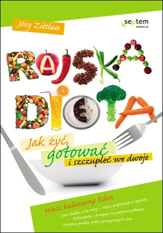 Okładka książki Rajska dieta