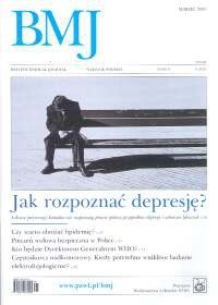 Okładka książki British Medical Journal nr 3/2003