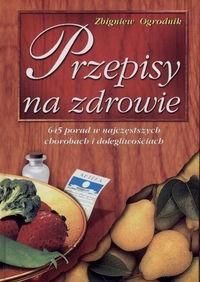 Okładka książki Przepisy na zdrowie