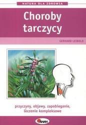Okładka książki Choroby tarczycy przyczyny objawy zapobieganie