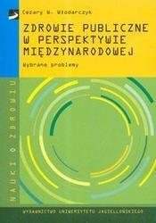 Okładka książki zdrowie publiczne w perspektywie międzynarodowej /Nauki o zdrowiu
