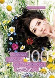 Okładka książki zielarska apteczka na 100 kobiecych dolegliwości