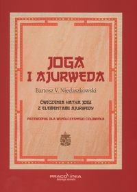 Okładka książki Joga i ajurweda przewodnik dla współczesnego człowieka