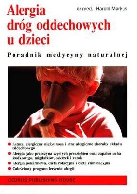 Okładka książki Alergia dróg oddechowych u dzieci