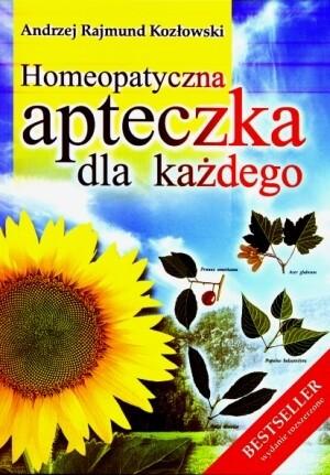 Okładka książki Homeopatyczna apteczka dla każdego