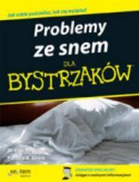 Okładka książki Problemy ze snem dla bystrzaków