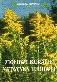 Okładka książki ziołowe kuracje medycyny ludowej