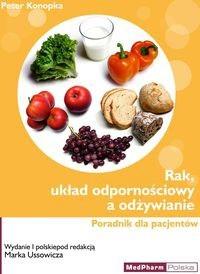 Okładka książki Rak, układ odpornościowy a odżywianie