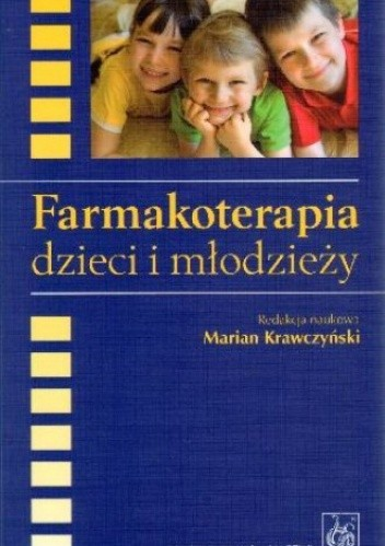 Okładka książki Farmakoterapia dzieci i młodzieży