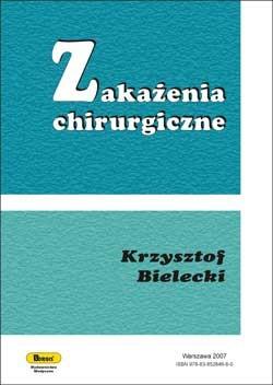Okładka książki zakażenia chirurgiczne