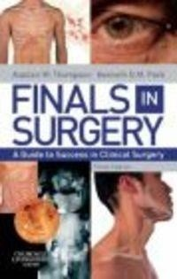 Okładka książki Finals in Surgery 3e
