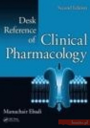 Okładka książki Desk Reference of Clinical Pharmacology 2e
