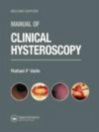 Okładka książki Manual of Clinical Hysteroscopy