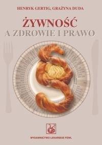 Okładka książki Żywność a zdrowie i prawo