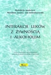 Okładka książki Interakcje leków z żywnością i alkoholem