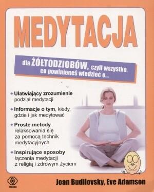 Okładka książki Medytacja dla żółtodziobów