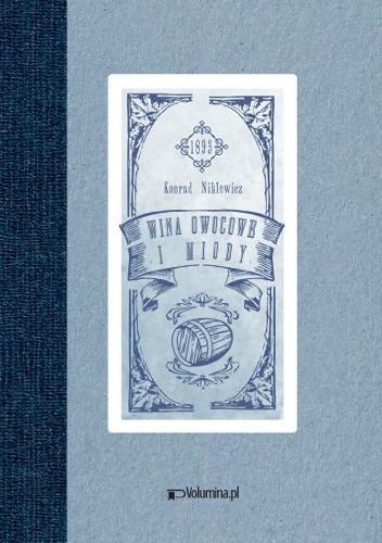 Okładka książki Wina owocowe i miody