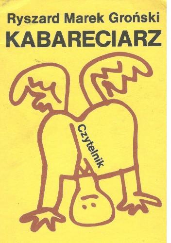 Okładka książki Kabareciarz