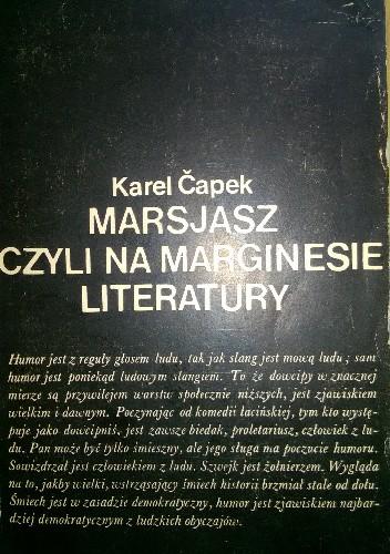 Okładka książki Marsjasz, czyli na marginesie literatury (1919-1931)