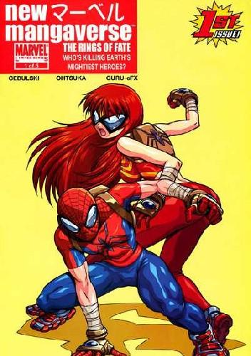 Okładka książki New Mangaverse: The Rings of Fate #1 - The Rings Of Fate Part One: Blow By Blow