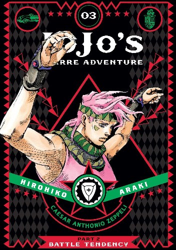 Okładka książki JoJo's Bizarre Adventure: Part 2 - Battle Tendency, Volume 3