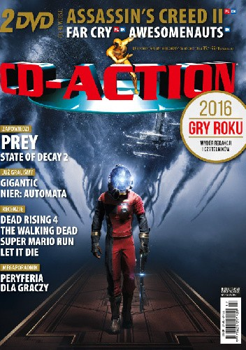 Okładka książki CD-Action 02/2017