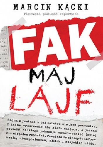 Okładka książki Fak maj lajf