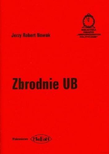 Okładka książki Zbrodnie UB
