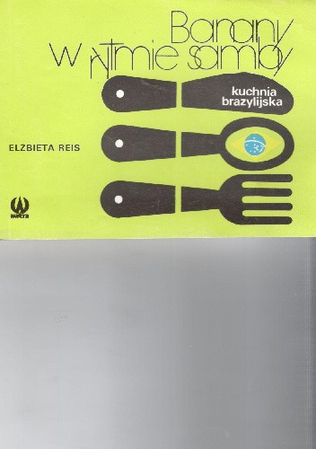 Okładka książki Banany w rytmie samby.Kuchnia brazylijska