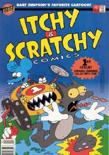 Okładka książki Itchy & Scratchy Comics #1 - Around the World in 80 Pieces