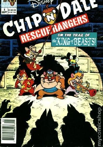 Okładka książki Chip'n'Dale Rescue Rangers #4